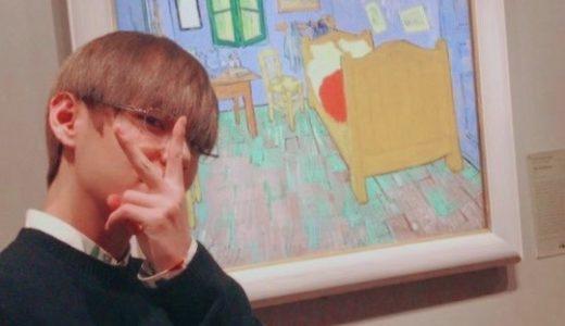 BTS テヒョンと美術について。ゴッホヒョン!