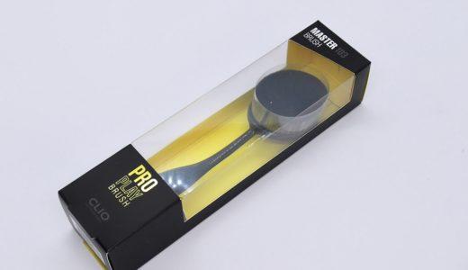 【CLIO  クリオ】歯ブラシ型ブラシ◎ プロプレイマスターブラシ クッションにも使える!使い方